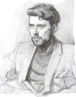 Pencil Sketch by Katherine Dereli