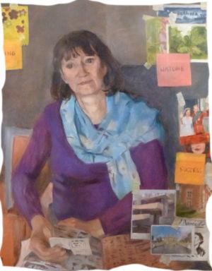 Painting by Burscough Artist Katherine dereli